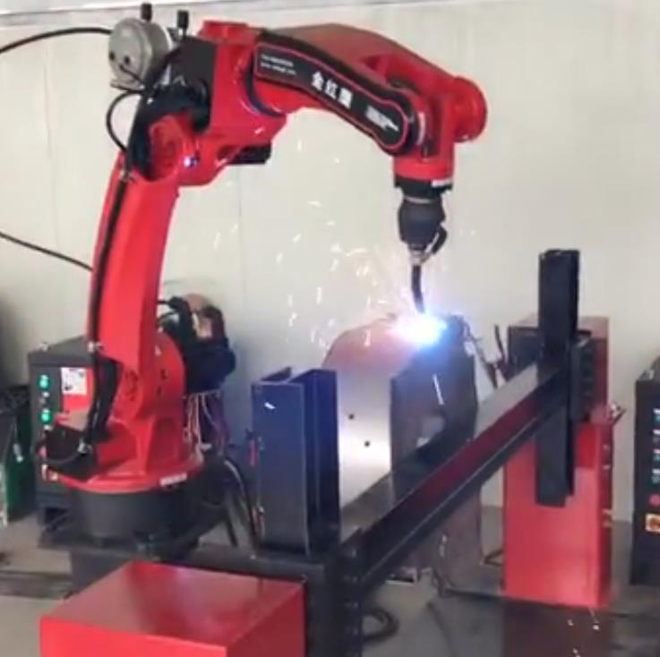机器人风机外壳焊接