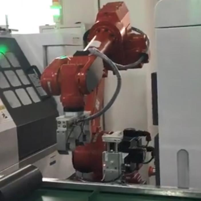 机器人机床上下料